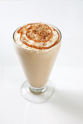 chocolate caramel shake