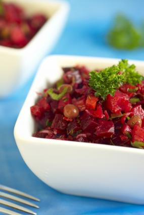 Beet and Potato Salad