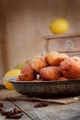 bowl of fritters