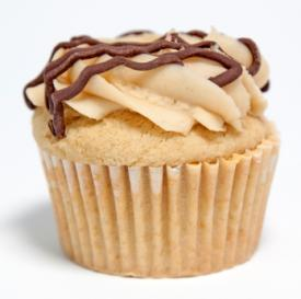 frosted cappuccino muffin