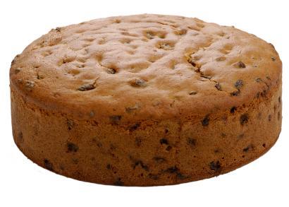 Round Fruit Cake