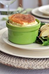Cheese Souffle with Pastry