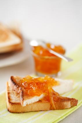 toast with marmalade