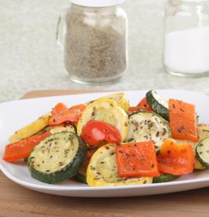 Roasted Squash and Zucchini