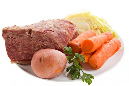 Corned Beef Dinner Ingredients