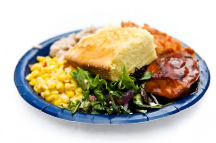 Southern Meal with Cornbread
