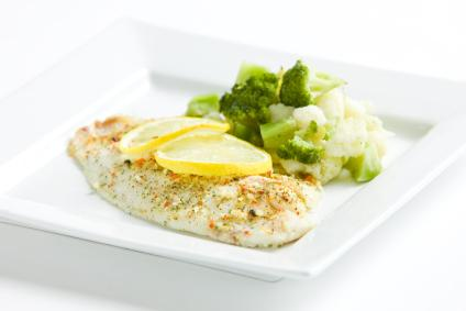 Tilapia with Lemon