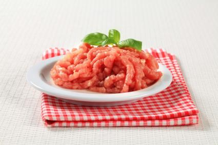 raw ground turkey