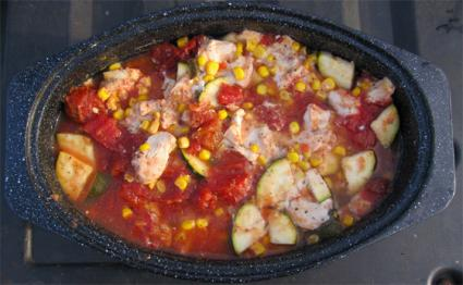 Slow Cook Chicken Ratatouille