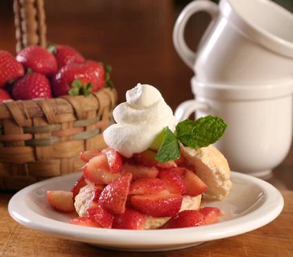 Almond Shortcake