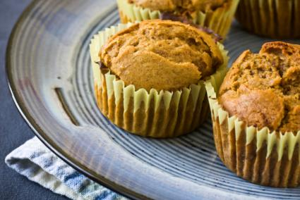 Image of homemade sweet potato muffins