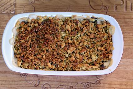 Squash and Stuffing Casserole