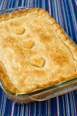 Pheasant pot pie
