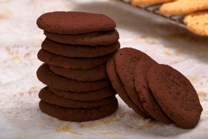 Chocolate sables