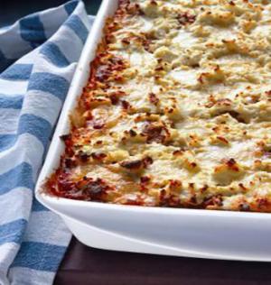 pasta and beef casserole