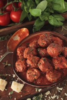 Italian Saucy meatballs