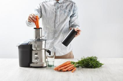 juicing carrots