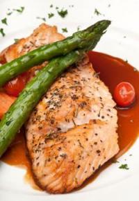 Ginger-Glazed Salmon
