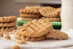 Tofu Peanut Butter Cookies