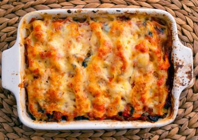 Rotel Chicken Enchilada Casserole