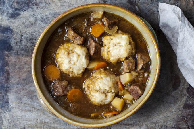 dumplings in stew