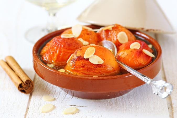 stewed apricots