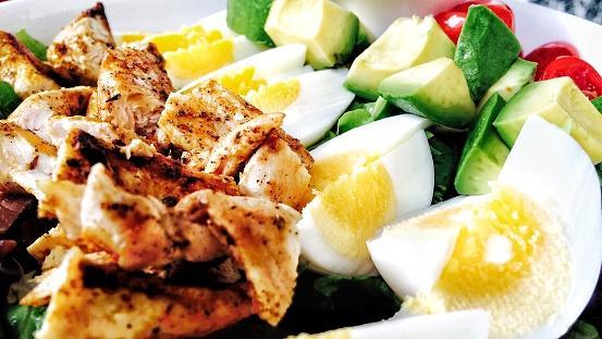 Avocado Buttermilk Chicken salad