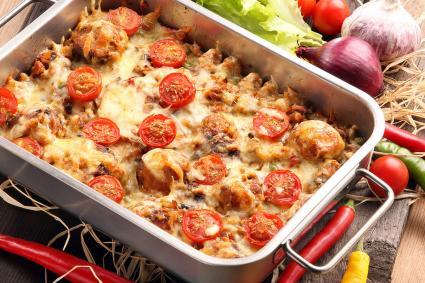 Rice and Tomato Taco Casserole