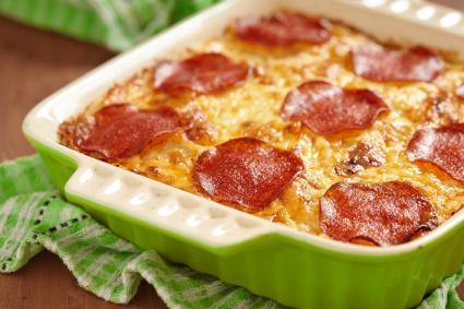 Vegetable Pizza Casserole