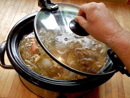 Crock Pot ham stock
