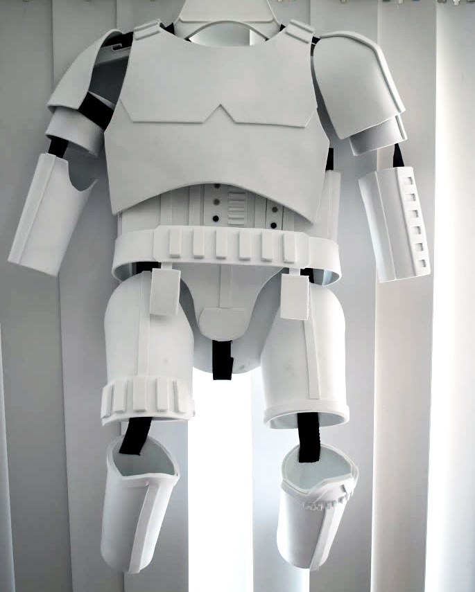 Stormtrooper DIY Costume | Star Wars Sewing Patterns For May The 4th | Sewing | quick star wars costume