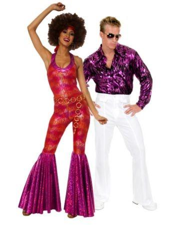 groovy couples costume  sc 1 st  Costumes - LoveToKnow & Disco Costume Ideas | LoveToKnow