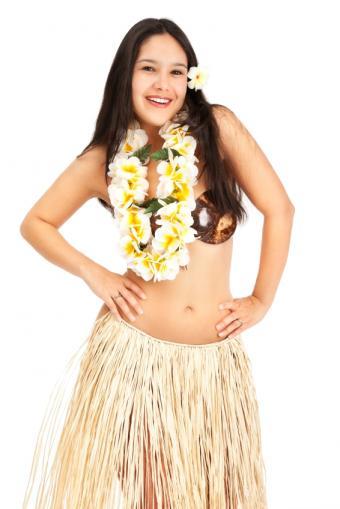 Hawaiian Luau Costume Photos
