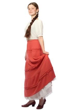 petticoat style top