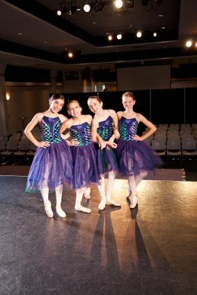 puple ballerina costumes