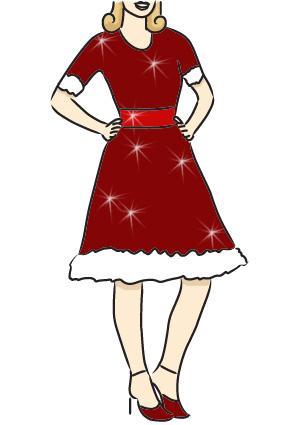 Mrs. Claus dress