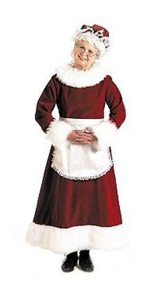 Adult Mrs. Claus Costume from Costume Discounters
