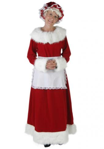 Plus size Mrs. Claus costume from HalloweenCostumes.com