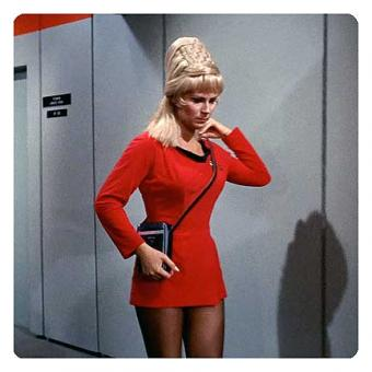 Star Trek skant uniform