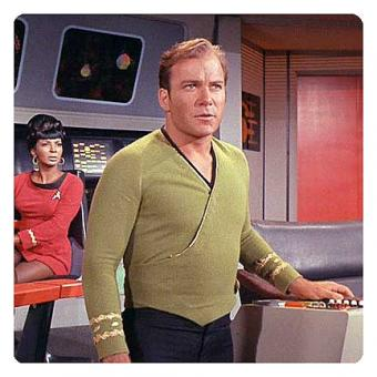 Star Trek Men's Wrap Uniform pattern from Entertainment Earth