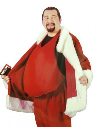 Santa Belly from SantaSuits.com