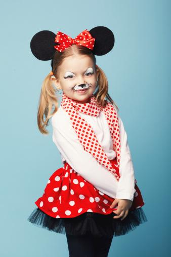 little girl mouse costume