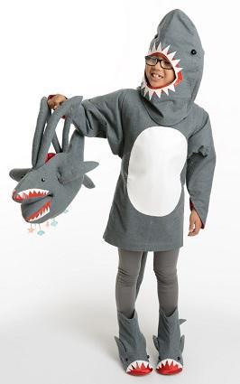 Shark Costume Pattern