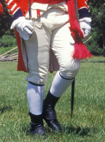 British Revolutionary Knee Breeches