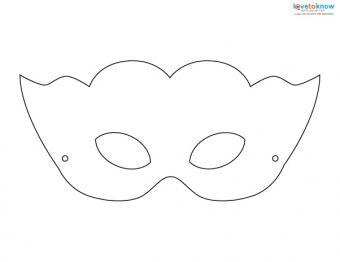 Printable Halloween Masks 3 masquerade