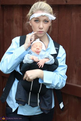 Dr. Evil and Mini Me infant costume
