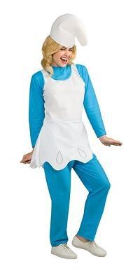 Women's smurfette costume