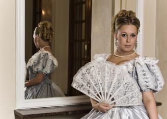 Scarlett inspired gown