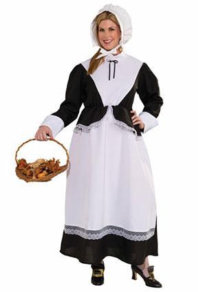 Plus Size Woman Pilgrim Costume