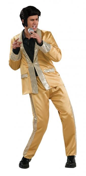 Gold Lame Suit